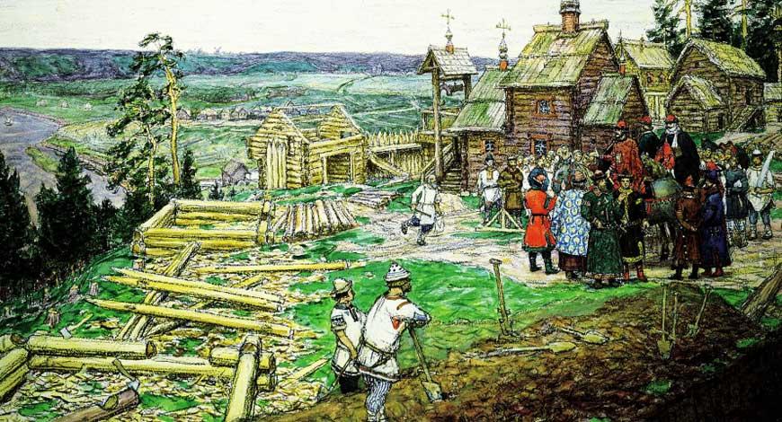 1272 год - основание Москвы